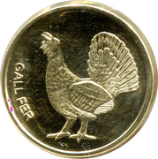 1 Centim (Gall Fer) -  reverse