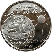 10 Diners - Joan Martí i Alanis (Discovery of America) -  reverse