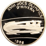 2 Diners - Joan Martí i Alanis (XVIII Winter Olympics) -  reverse