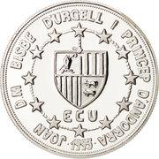 10 Diners - Joan Martí i Alanis (ECU Customs Union) -  obverse