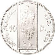 10 Diners - Joan Martí i Alanis (ECU Customs Union) -  reverse