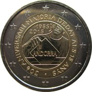 2 Euro (30 Years of Political Rights) – obverse