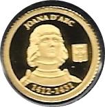 1 Diner - Joan Enric Vives i Sicília (Jeanne d'Arc) -  reverse