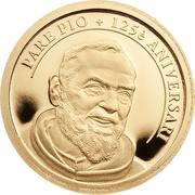 1 Diner (Saint Pio of Pietrelcina) -  reverse