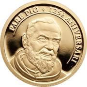 2 Diners (Saint Pio of Pietrelcina) -  reverse
