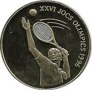 25 Diners. Tennis. Atlanta 1996 -  obverse