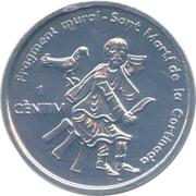1 Centim (Sant Marti de la Cortinada) – reverse