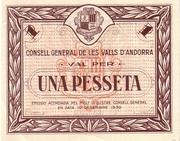 1 Pesseta -  obverse