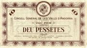 10 Pessetes -  obverse
