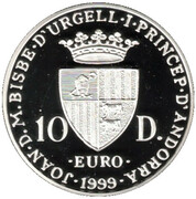 10 Diners (European Council) -  obverse