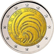 2 Euro (50 years of universal female suffrage) -  obverse
