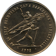 2 Diners - Joan Martí i Alanis (Albertville and Barcelona Olympiads) -  reverse
