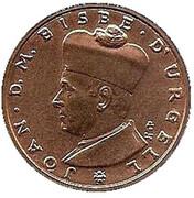 5 Diners - Joan Martí i Alanis (Joan D'Urgell I) -  reverse