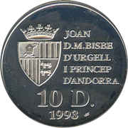 10 Diners (World Championship Football 1994) -  obverse