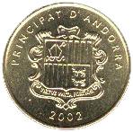 2 Centims (Grandalla) -  obverse