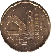 20 Euro Cent – obverse