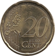 20 Euro Cent – reverse