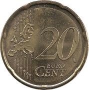 20 Euro Cent -  reverse
