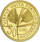 50 Euro (Constitution) -  reverse