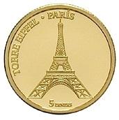 5 Diners (Eiffel Tower in Paris) -  reverse