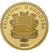 5 Diners (Escorial Palace in Madrid) -  obverse