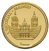 5 Diners (Escorial Palace in Madrid) -  reverse