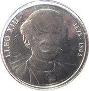 1 Cèntim - Joan Enric Vives i Sicília (Popes of the 20th Century) – reverse