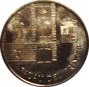 10 Centims (Palau Del Princep) -  reverse