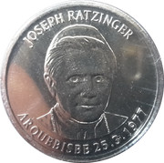 10 Centims (Pope Benedictus XVI) -  reverse