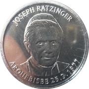 10 Centims (Pope Benedictus XVI) – reverse