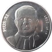 10 Centims (Pope Pius XI) – reverse