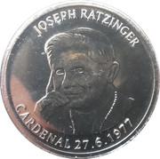 25 Centims (Pope Benedictus XVI) – reverse