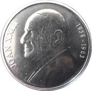 50 Centims (Pope John XXIII) -  reverse