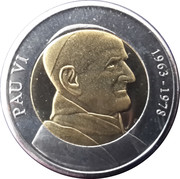 1 Diner (Pope Paul VI) -  reverse