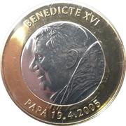 2 Diners (Pope Benedictus XVI) -  reverse