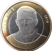 2 Diners (Pope John Paul I) -  reverse