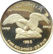 5 Diners - Joan Martí i Alanis (Defiant Eagle) -  obverse