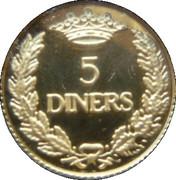 5 Diners - Joan Martí i Alanis (Defiant Eagle) -  reverse