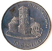 10 Centims (St Joan de Caselles) -  reverse