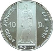 10 Diners - Joan Martí i Alanis (St. George) -  reverse