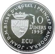 10 Diners - Joan Martí i Alanis (Agnus Dei) -  obverse