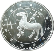 10 Diners - Joan Martí i Alanis (Agnus Dei) -  reverse