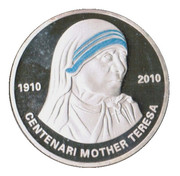 10 Diners - Joan Enric Vives i Sicília (Mother Teresa) – reverse