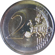 2 Euro (Customs Agreement) -  reverse
