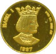 50 Cèntims - Joan Martí i Alanis (Queen Isabella I) -  reverse