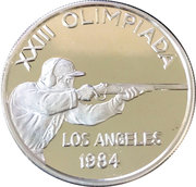 20 Diners (1984 Summer Olympics) -  reverse