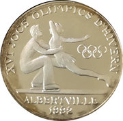 20 Diners - 1992 Winter Olympics -  reverse