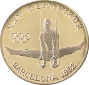 20 Diners (1992 Summer Olympics) -  reverse