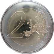 2 Euro (Radio and Television of Andorra) – reverse
