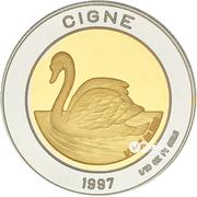 25 Diners - Joan Martí i Alanis (Swan) -  obverse